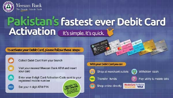 Meezan Bank Launches Debit Card for Online Shopping Lovers